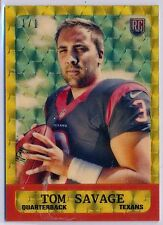 TOM SAVAGE - 2014 Topps Chrome SUPERFRACTOR Rookie 1963 Insert 1/1 - Texans RC