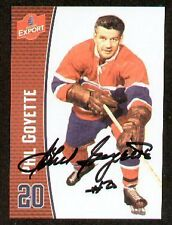 Phil Goyette signed autograph Molson Export Hockey Card
