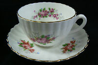Radfords made in England Flowers Fine Bone China Tea Cup & Saucer set