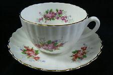 Radfords made in England Flowers Fine Bone China Tea Cup & Saucer set