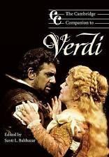 The Cambridge Companion to Verdi (Cambridge Companions to Music)-ExLibrary