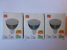 3 x RS Pro GU5.3 DEL Réflecteur Lampe 5 W (40 W) 6500K, jour blanc, MR16