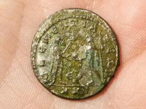 Roman Probus 276-82 AE Silvered Antoninianus  Coin CLEMENTIA S3343 #EE12