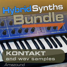 KORG DW8000 + PPG WAVE 2 SAMPLES BUNDLEfor KONTAKT 681 nki 5474 WAV 24BIT MAC PC