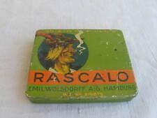 alte Blechdose Rascalo Zigarillos mit rauchendem Landjunker  Wolsdorff Hamburg