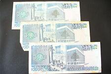 BILLET  ETRANGER  :   3 BILLETS  LIBAN  3 X 1000 LIVRES    !!!