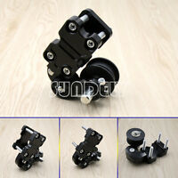 Black Universal Motorcycle Alloy Adjustable Chain Tensioner PIT Trail Dirt Bike