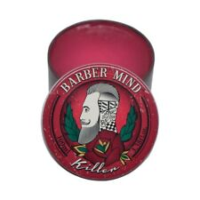 barber mind killer pomade hairstyling wax gel, high hold and shine (100ml)