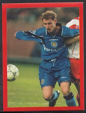 Futera Football Sticker - Europe 2000 - Man Utd - No 33 - Nicky Butt