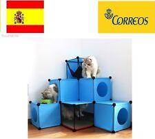 Casa laberinto gato caseta mascota árbol hamaca torre de juego