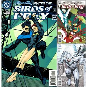 Birds of Prey U PICK comic 1999 1-127 8 Batgirl Nightwing Kiss 2010 1-15 DC