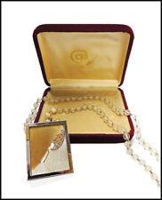 Erte Beloved State VI Necklace Pendant Art Deco Jewelry Signed Gold Diamond Art