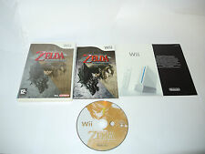 THE LEGEND OF ZELDA TWILIGHT PRINCESS complete in box Nintendo Wii PAL game