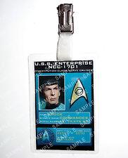 Star Trek Original Series Spock ID Badge Cosplay Costume Comic Con