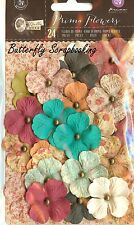 Prima Flowers 24 Flowers Bella Rouge Collection Scrapbooking Prima 580520 NEW