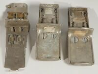 Lot of 3 Vintage Vending Machine Coin Slots- For Parts or Steampunk Art Projects