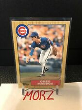 Greg Maddux 1987 Topps Traded #70T RC Rookie Card Chicago Cubs READ!