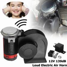 12V 139dB Loud Car Truck Dual Tone Compact Air Horn Electric Trumpet