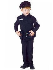 Police Officer Man Policeman Set Boys Child Costume Career Job Party Halloween