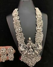 Indian Women Necklace Set Antique Plated Fashion Temple Jewelry Wedding Wear