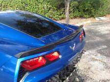 Chevrolet Corvette 2014 - 2019 C7 Z51 Carbon Fiber Rear Trunk Spoiler Wing Lip