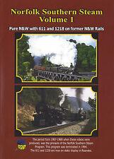 Norfolk Southern Steam Volume 1 DVD Railroad Greg Scholl NEW!