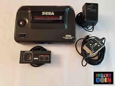 CONSOLA SEGA MASTER SYSTEM II - SONIC (PAL UK / PAL I  )  #07465  LEER/READ!