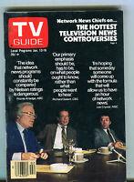 TV Guide Magazine January 13-19 1979 Network News Chiefs EX 071816jhe