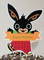 BING Cake Topper Party Decoration Centerpiece - Happy Birthday - 18cm tall