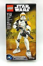 Lego Star Wars CLONE COMMANDER CODY 75108 Disney Buildable Figures 82 Pcs 2015