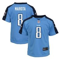 Marcus Mariota Tennessee Titans NFL Nike Boys Light Blue  Game Jersey