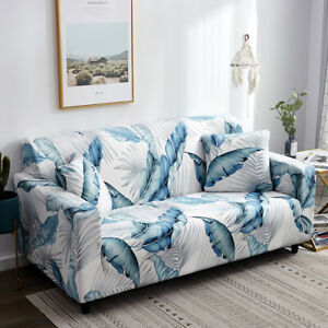 1 2 3 4 Seater Sofa Cover Stretch Printed Couch Cover Sofa Slipcover Protector