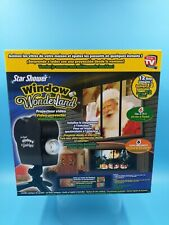 neuf star shower window wonderland 12 film 6 noel 6 halloween video projecteur