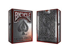 Bicycle Metal Themed Playing Cards