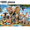 1000 Piece 75 * 50cm Jigsaw Puzzle Learning Hot Animal World For Adults Kids New