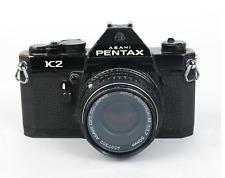 Pentax K2 Black 35mm SLR w/ SMC PENTAX-M 50mm f/1.7