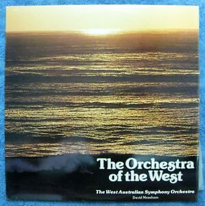 ORCHESTRA OF THE WEST- David Measham- Double LP- PSM-7813- 720- 6WF Label- Perth
