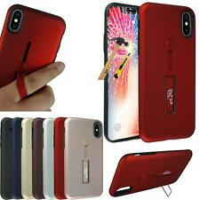 New Gel Ring Phone Case For Huawei Apple LG Note Nokia 8 K8 K4 + Tempered Glass