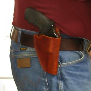 Right Hand Belt Holster for Charter Arms Bulldog w/ 2 1/2-3 Inch Barrel