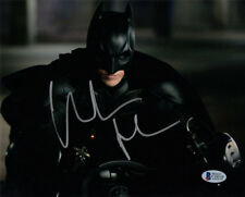 CHRISTIAN BALE SIGNED AUTOGRAPHED 8x10 PHOTO THE DARK KNIGHT BATMAN BECKETT BAS