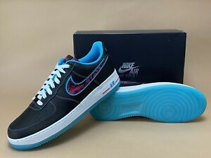 Nike Air Force 1 Low Miami Nights Hot Pink / Teal / Black (DD9183-001) Size 13