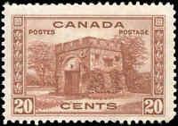 1938 Mint H Canada F+ Scott #243 20c Pictorial Issue Stamp