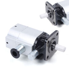 Hydraulic Log Splitter Pump Kit 16 Gpm 2 Stage Pump Amp13 Gpm 3000psi 12 Shaft