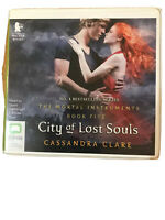 Cassandra Clare - City of Lost Souls unabridged audiobook on 14 CDs Like New