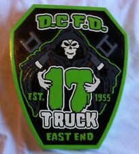 Fire Department DC Columbia Truck 17 3D routed EMS patch plaque sign Custom