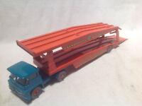 MATCHBOX GUY WARRIOR CAR TRANSPORTER-LESNEY-1:64-FARNBOROUGH MEASHAM AUCTION