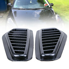 2z ABS Race Car Hood Scoop Carbon Style Bonnet Air Vent Decorative Accessory New