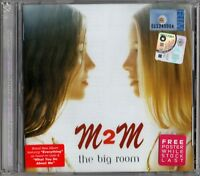 M2M The Big Room 2001 MALAYSIA Edition CD RARE NEW SEALED FREE SHIPMENT