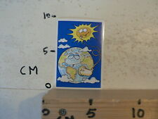 STICKER,DECAL ZON AARDE SUN EARTH VINTAGE ? PANINI FANTASTICKER