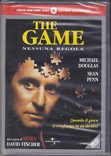 dvd THE GAME - NESSUNA REGOLA con Michael Douglas Sean Penn nuovo sigillato 1998